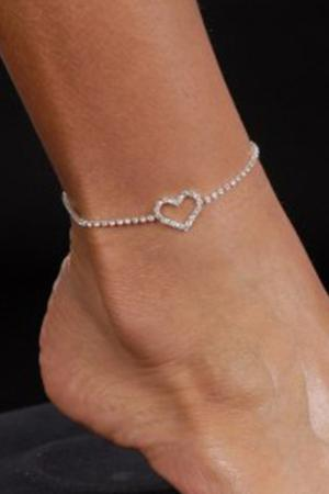 Fashion Heart Anklet