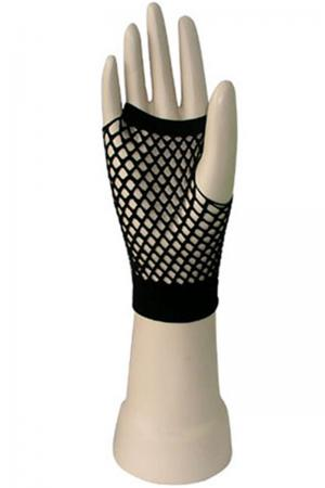 Sexy Short Fishnet fingerless gloves