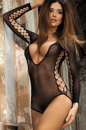 Long Sleeved Cut Out Sides Bodysuit