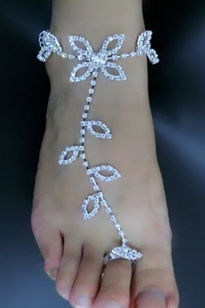 Latin Dance Wedding Barefoot Sandals Anklet