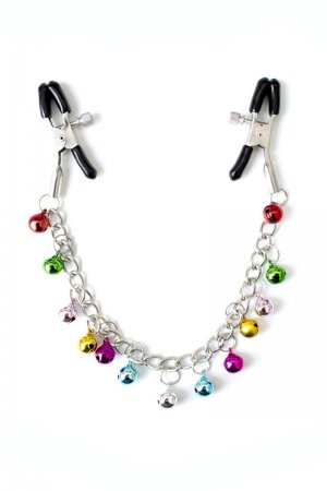 Adjustable Nipple Clip With Multi-color Bell