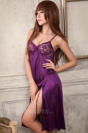 Violet Sexy Night Lace Cup Babydoll