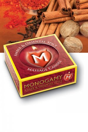 Monogamy Small Massage Candle - Steamy 25 gm