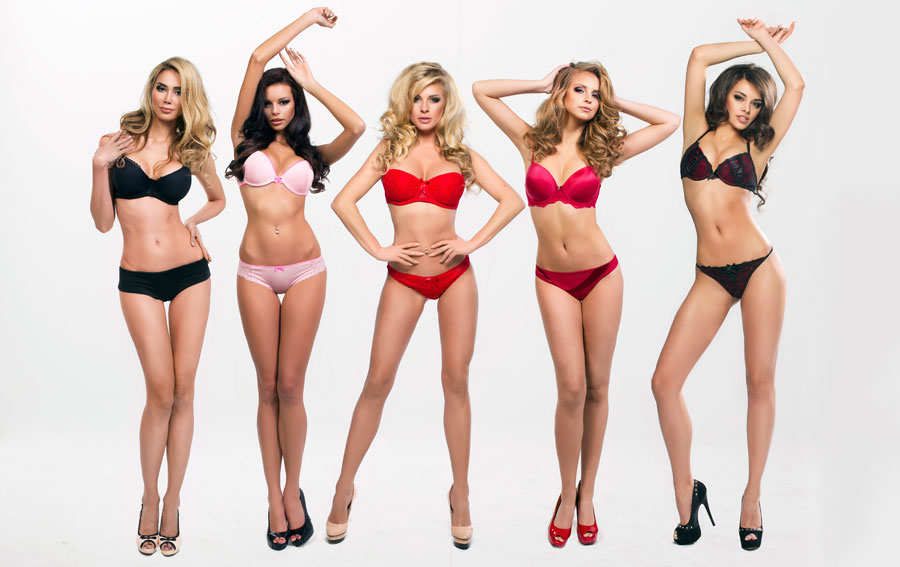 Lingerie & Female Body Shapes