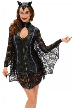 Flirty Vamp Bat Costume