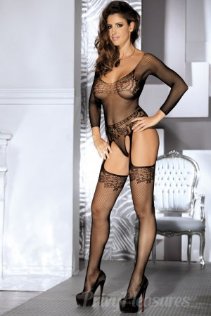 Long Sleeved Black Bodystocking