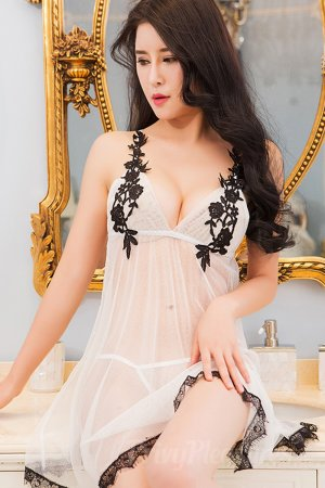 Charming White Transparent Babydoll