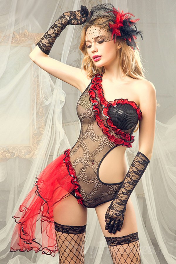 Exotic Dancer Costume - Full Set