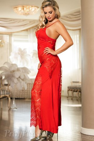 Red Hot Night Dress for Women