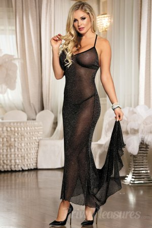 Midnight Romance Sexy Long Nightgown