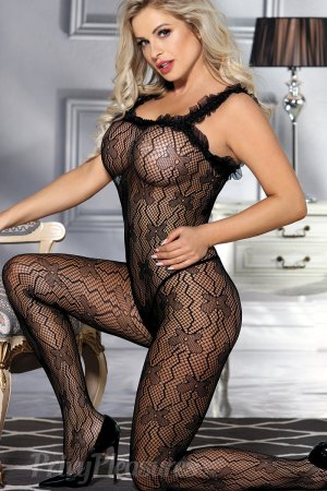 Sexy Lace Black Bodystocking