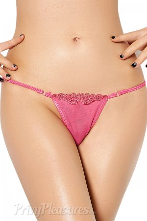 Playful Pink Y-Back G-String
