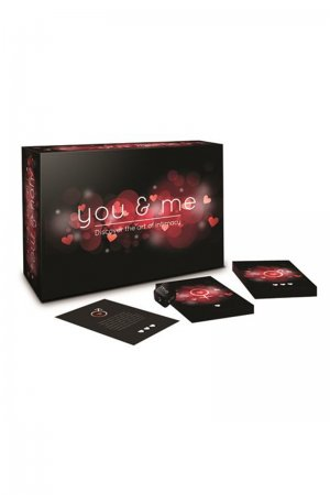 You & Me Love Game Cards