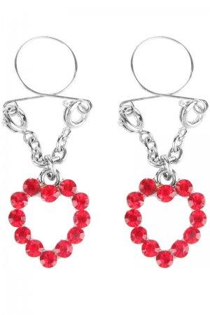 Ruby Hearts Nipple Jewellery