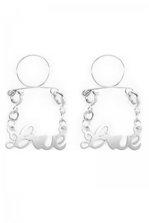 Silver Love Nipple Jewellery