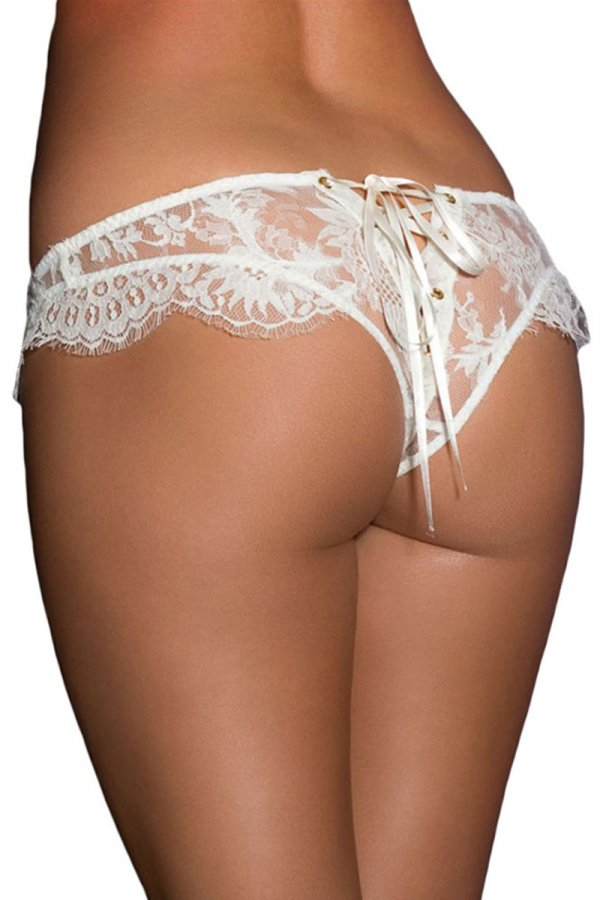 Sassy Crinkly Transparent Panty
