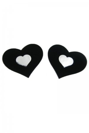 Black Heart Shape Nipple cover