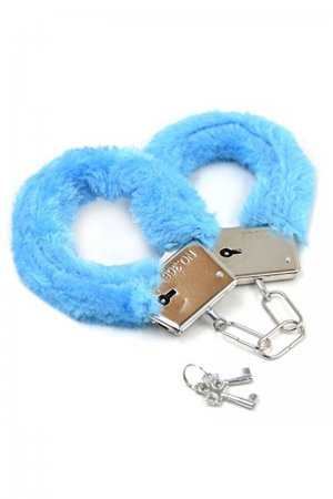 Blue Sensual Handcuffs