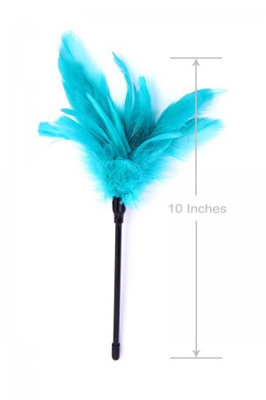 Foreplay Feather Tickler - Turquoise