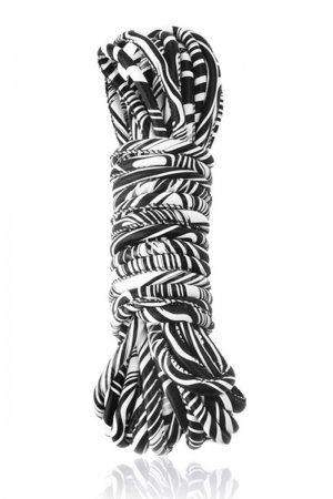 Faux Leather Bondage Rope - 10 Meters