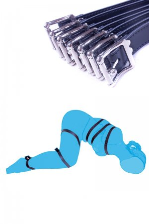 Body Bundle Restraint - 7 Straps