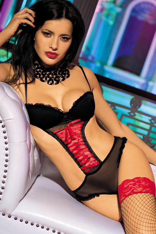 Mesh Underwired Cup Teddy
