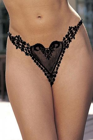 Heart G String Underwear