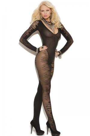 Jacquard Full Body Stocking