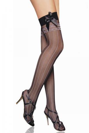 Satin Bow Fashion Stockings
