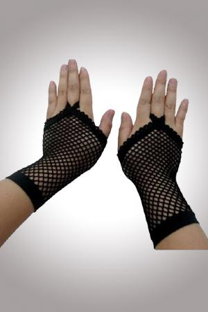Fishnet Adult Gloves