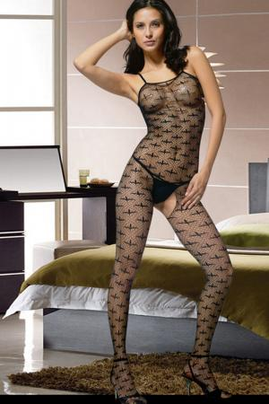 Halter neck lace bottomless bodystockings