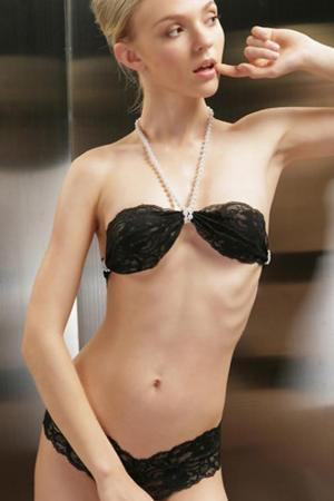 Beauty Love Black Bra Panty Set