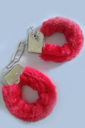 Red Sensual Handcuffs
