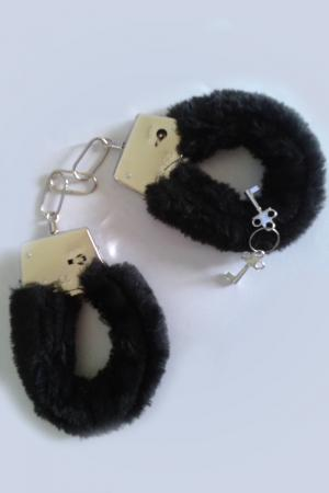 Black Sensual Handcuffs