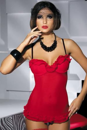 Red Babydoll Valentine Dress