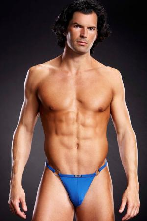 Sexy Male V-String Underwear with Rings