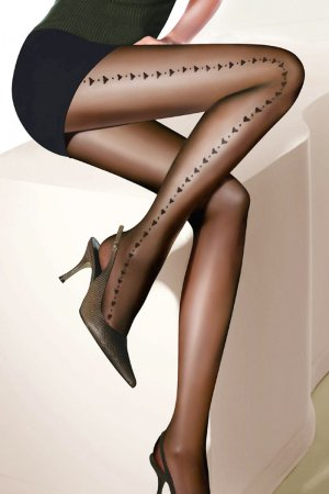 Sexy Pantyhose with side hearts