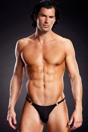 Sexy Underwear for Man with Metal Rings
