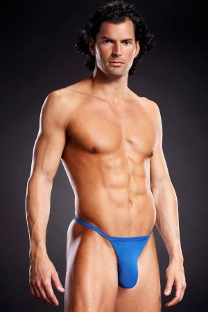 T Back Sexy Underwear for Men - Blue