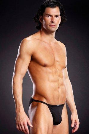 Mens String Bikini - Black