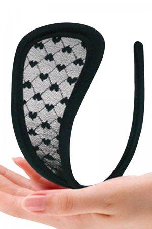 Black C String Panty