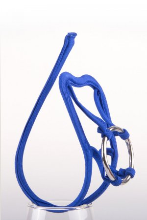 sexy blue C string for men