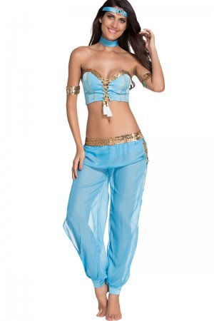 Belly Dancer Costume - Full Set