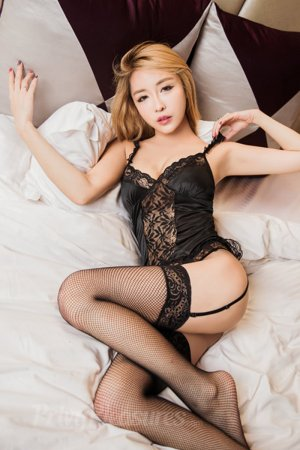 Black Honeymoon Lingerie Set with Stocking