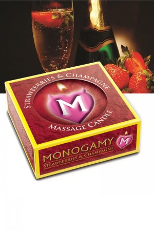 Monogamy Small Massage Candle - Intimate 25g