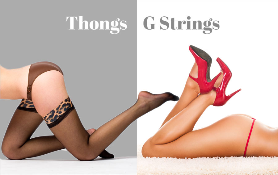 Thongs and G Strings for Women