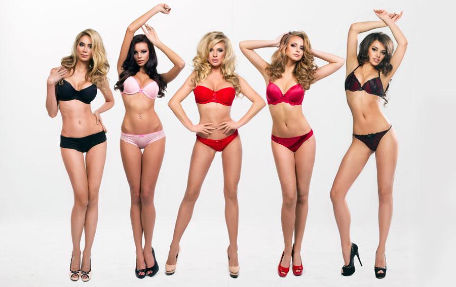 Lingerie & Female Body Shapes