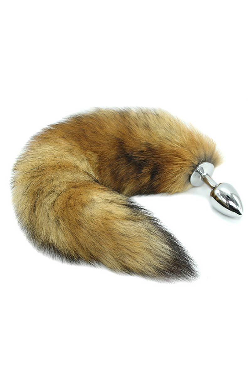 Metal Butt Plug with Bunny Tail