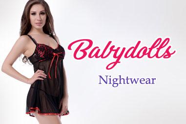 Sexy Babydoll Nightwear